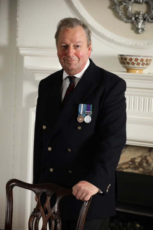 Danny Kinahan,Veterans Commissioner for Northern Ireland